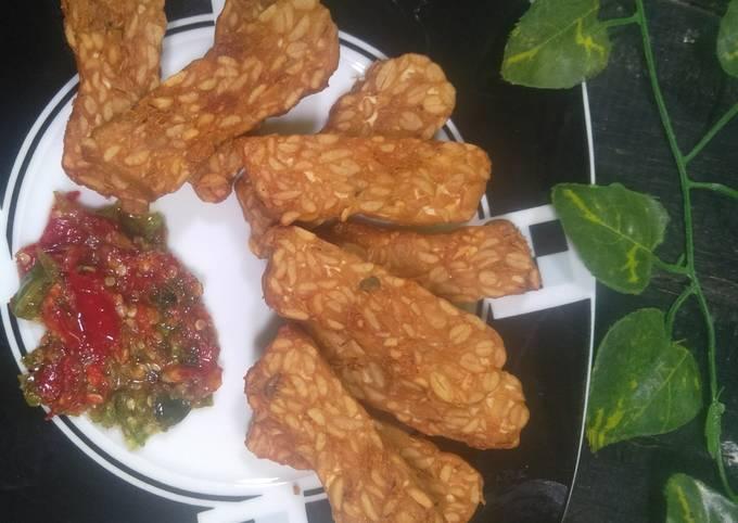 tempe goreng sambal goang - resepenakbgt.com