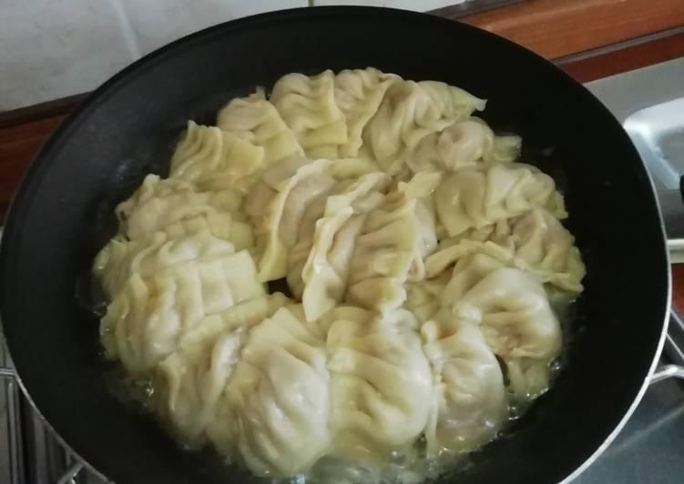 Ripieno e cottura per gyoza alla giapponese a modo mio