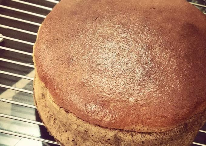 Coffee Condense Milk Cake