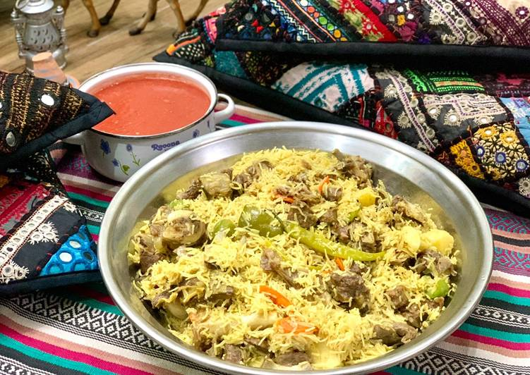 Easiest Way to Make Any-night-of-the-week Mutton Maqluba