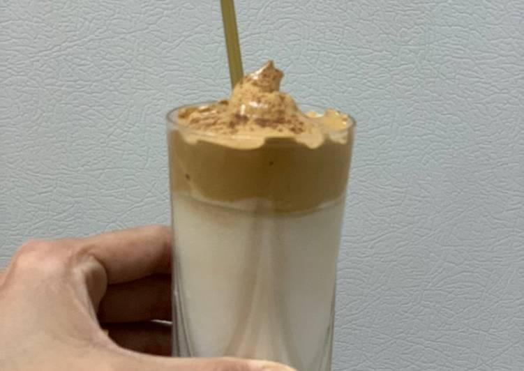 Dalgona Coffee Recipe By Alka Bhandari Cookpad