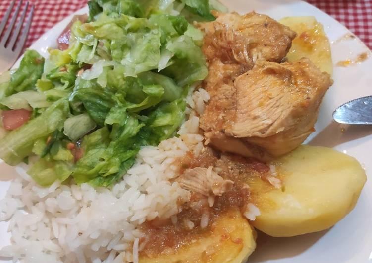 Seco de pollo