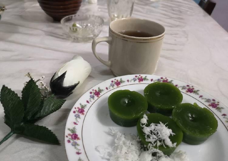 Resep Kue Lumpang Kue Ijo Oleh Fianty Cookpad