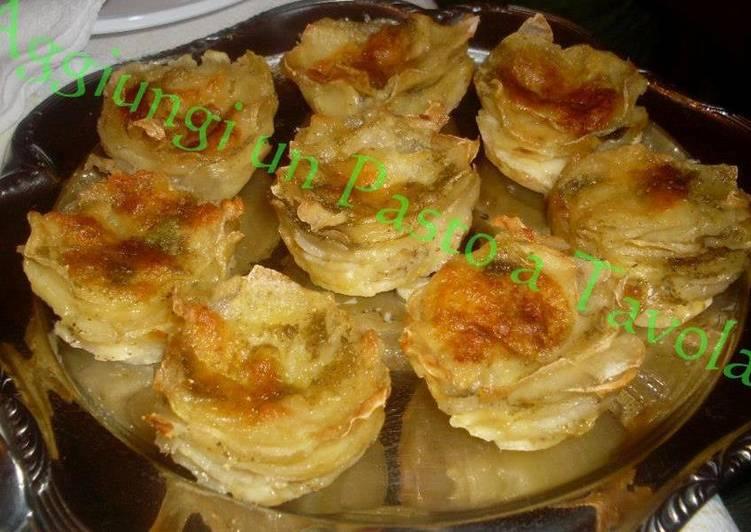 Tortini di patate (cottura al forno)