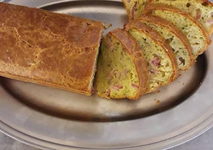 Cake jambon chou fleur