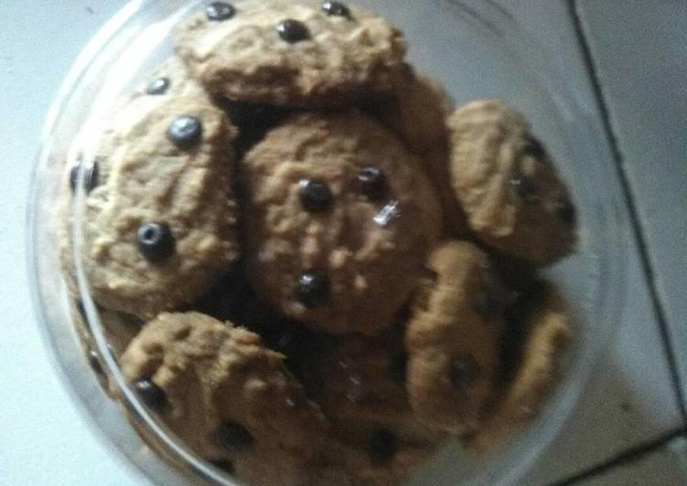 Cookies Milo Chocochip so Simpel
