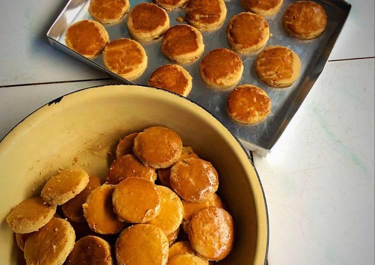 Peanut jam cookies / kue kering selai kacang