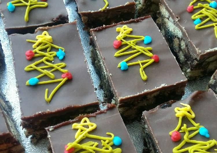 Recipe: Perfect Vickys Christmas Tiffin Slice, GF DF EF SF NF Vegan