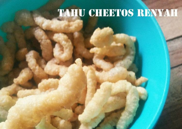Tahu Cheetos Renyah