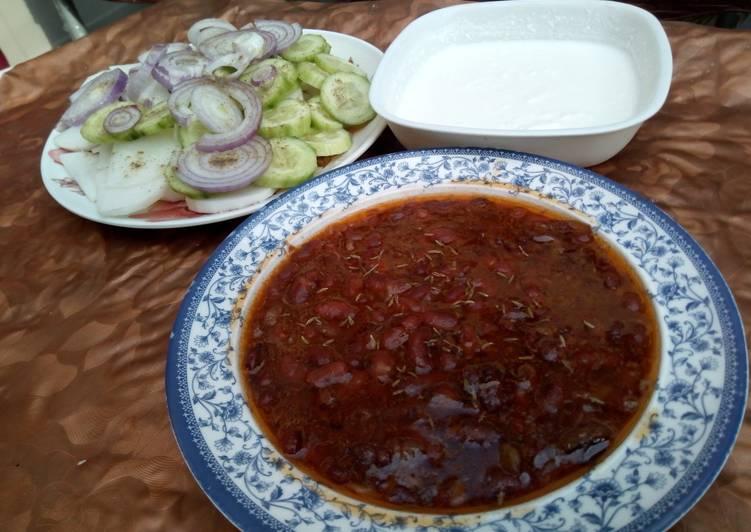 Simple Way to Make Award-winning Lobia ka salan