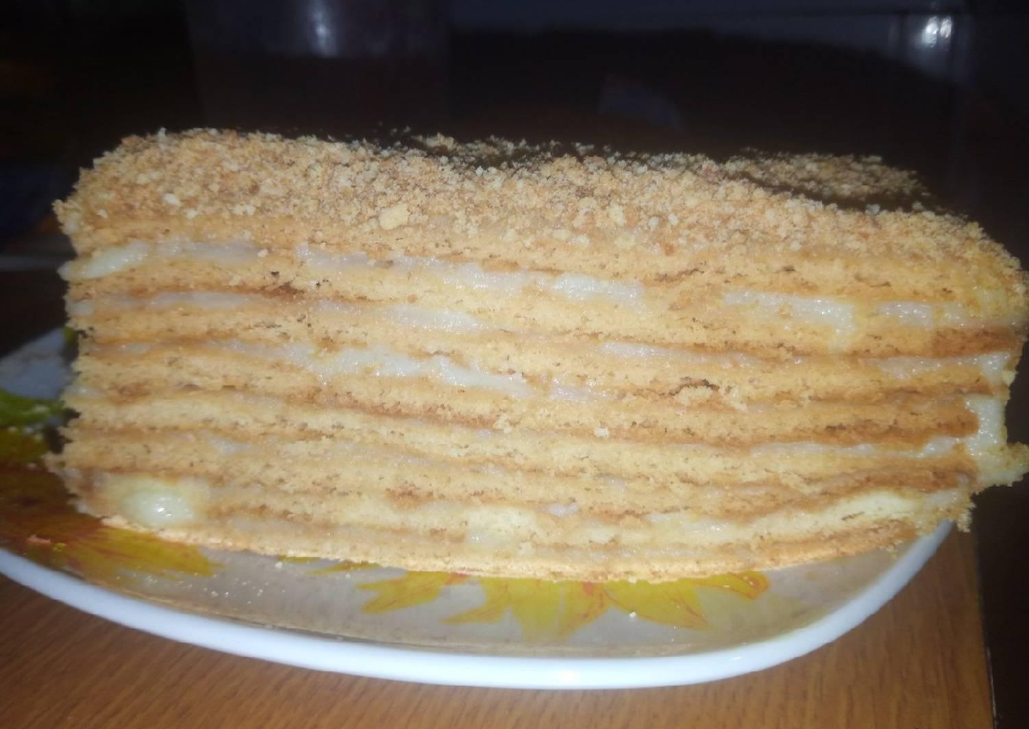 рецепт медового торта с заварным кремом фото парня получалось наладить