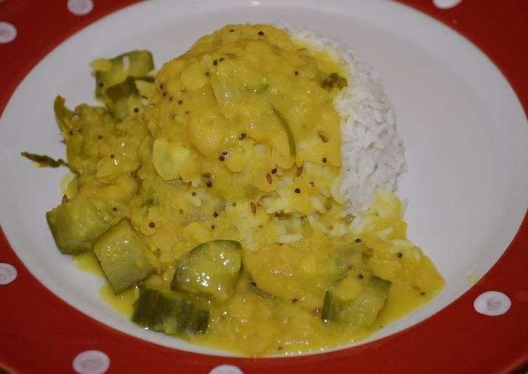 Recipe of Homemade Cucumber Dal