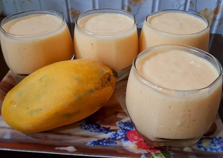 Mango Milkshake 🥭🥭