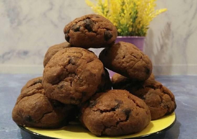 Peanut Butter Chocochips Cookies
