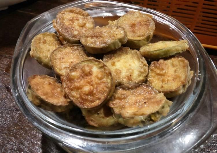 Terong Goreng Tepung + Sambel Korek