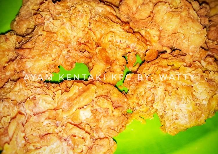 Resep Ayam KFC KW Sederhana
