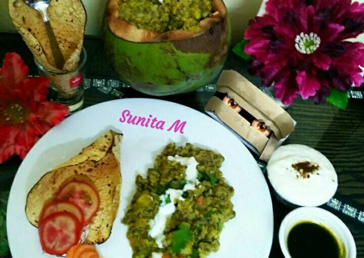 What is Dinner Easy Homemade Nutritious Coconut khichdi