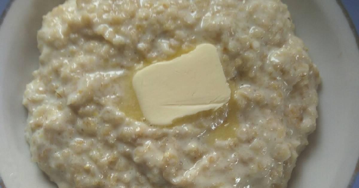 овсяная каша на молоке рецепт с фото представления