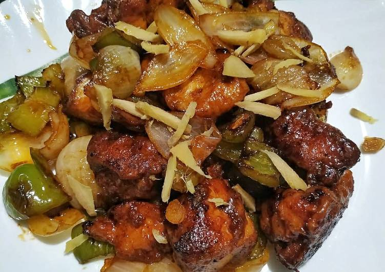Recipe of Any-night-of-the-week Chilli chicken dry