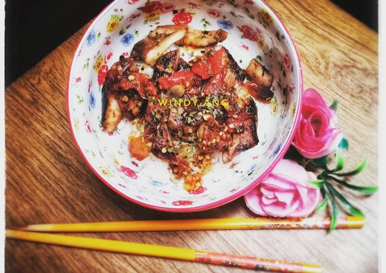 Ayam Panggang Simple dengan Saus Kecap (Diet Sehat)