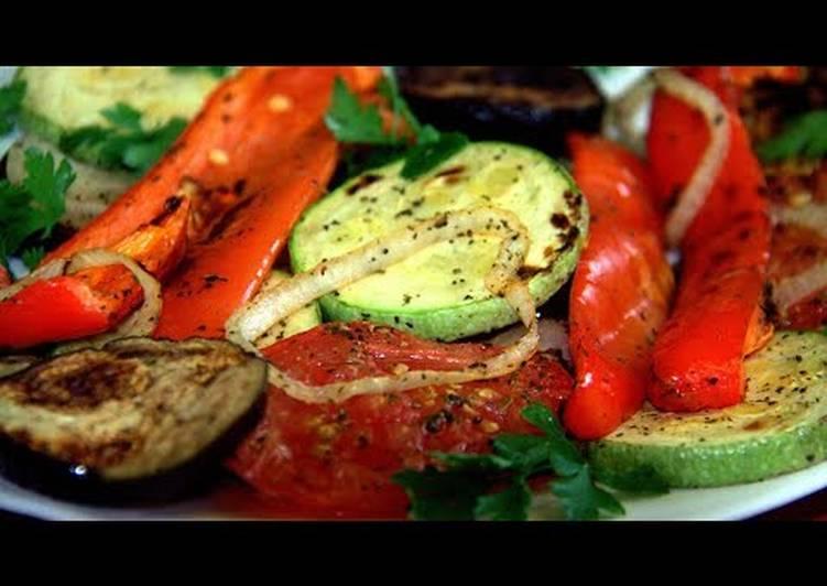 Запеченные овощи на костре – вкуснейшее блюдо пикника