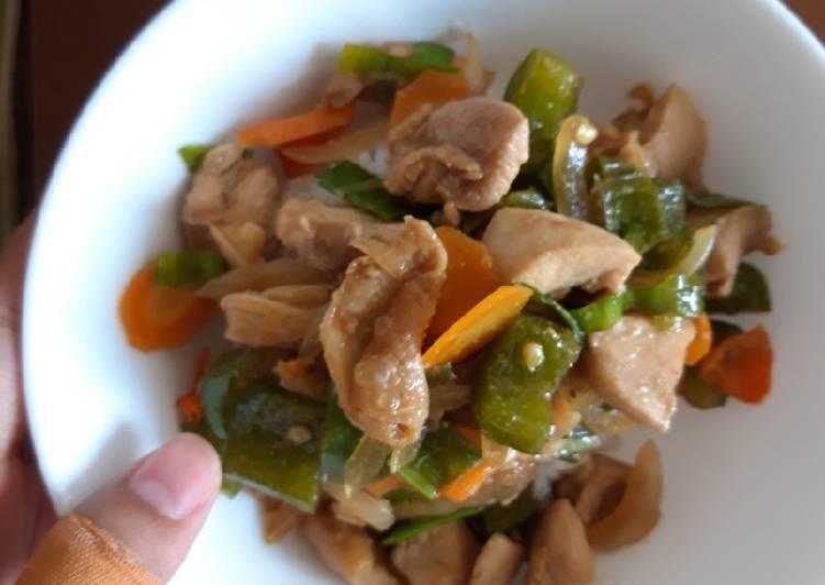 Rice Bowl Chicken Yakiniku