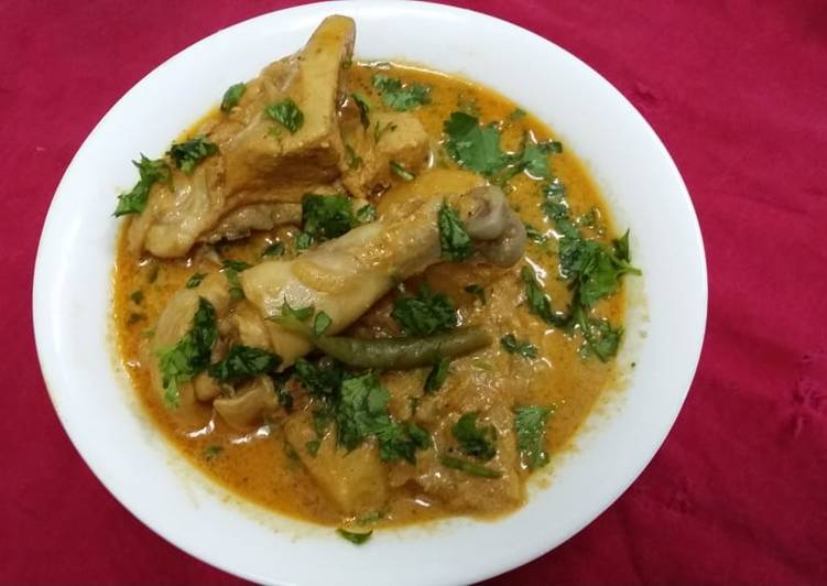 Easiest Way to Cook Appetizing Chicken Shahjahani Khorma