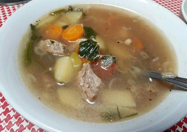 Sup Daging Sapi Rempah