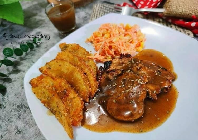 Chicken Steak Pan