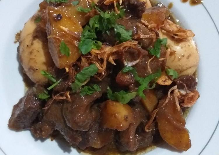 Bistik daging banjar(kalsel)