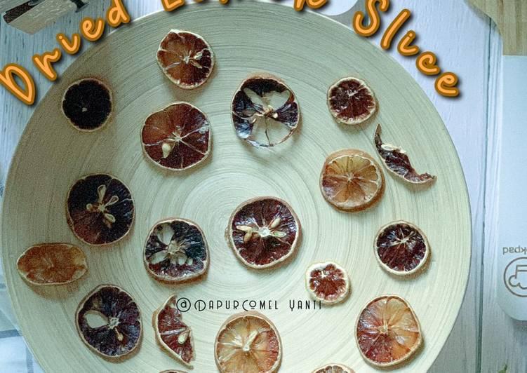Dried Lemon Slice - resepipouler.com