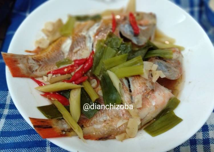 Ikan Nila Kukus (steam fish) Simple