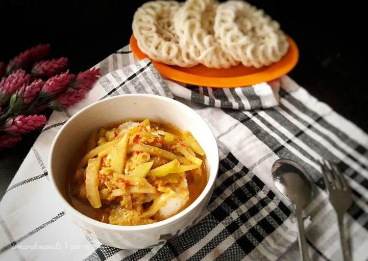 Kupat Sayur Koya Simpel #pr_homemadestreetfood