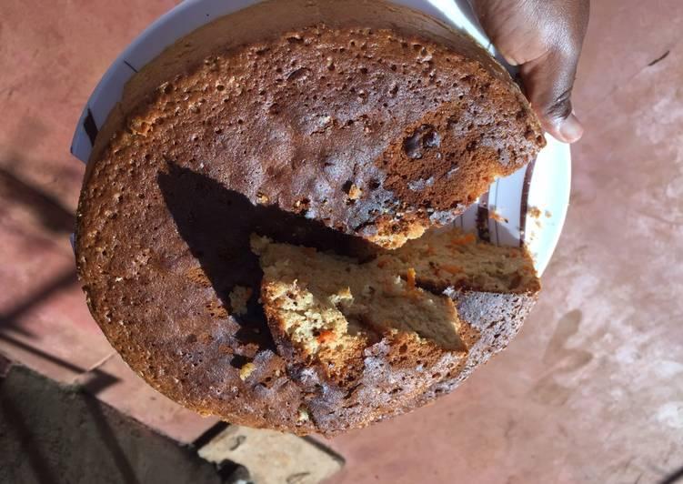 Recipe: Appetizing Moist carrot cake