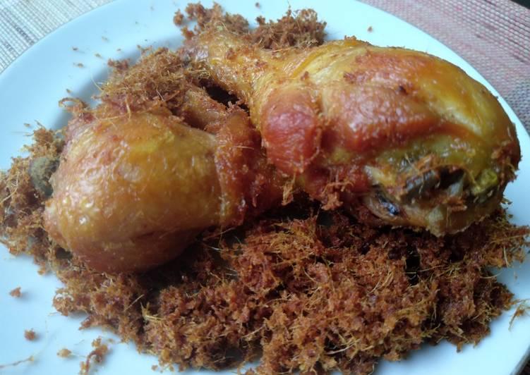 Langkah Mudah Membuat Ayam goreng padang bumbu lengkuas Anti Gagal