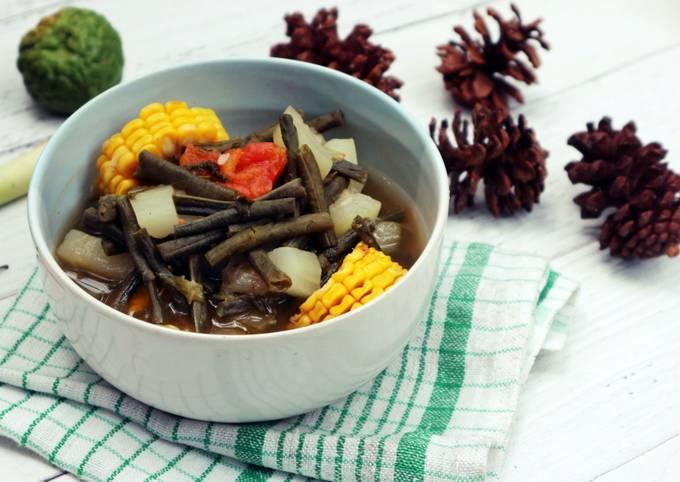 Sayur Asem Jawa Timur