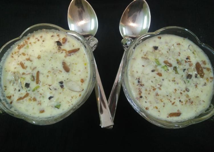 Basundi (Indian dessert)
