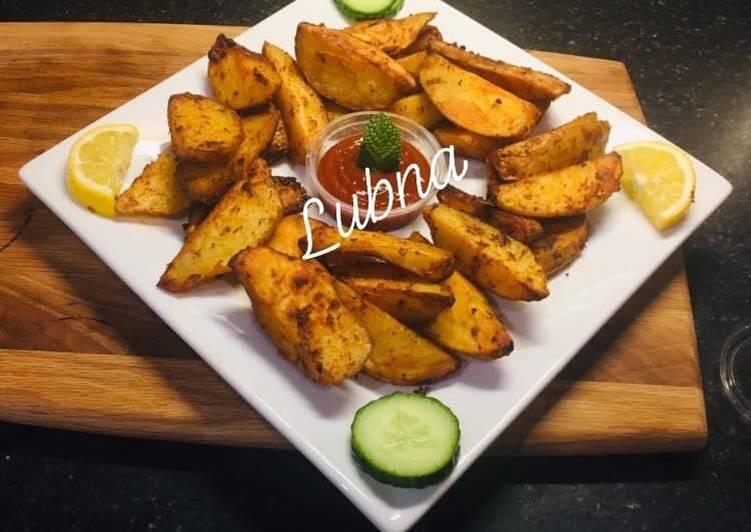 Recipe of Award-winning Potato Wedges