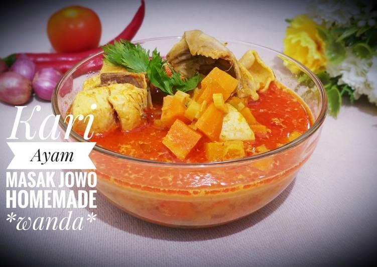 Kari Ayam masak Jawa a.k.a Javanese Chicken Curry😂