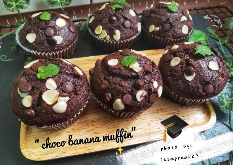 """""""Choco banana muffin"""""""