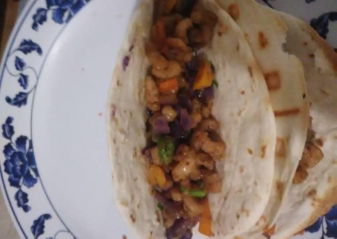 Kidney Diet Shrimp Tacos