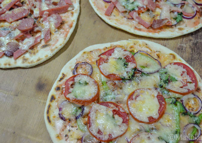 HOMEMADE PIZZA in 30mins