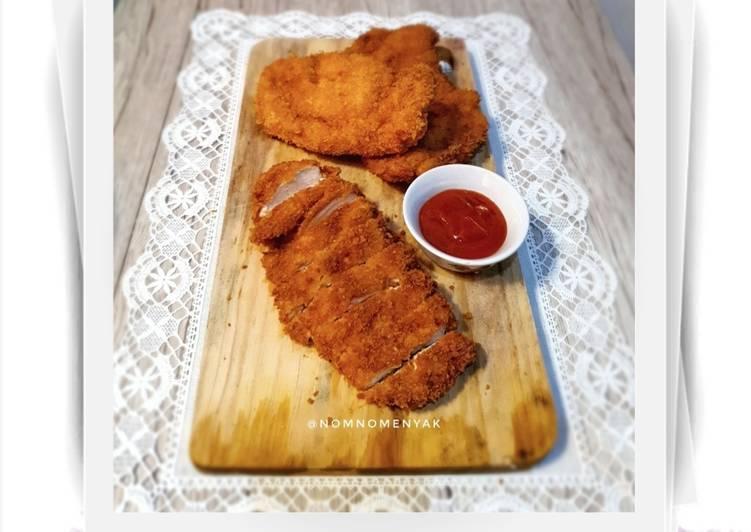Resep Chicken Katsu simpel