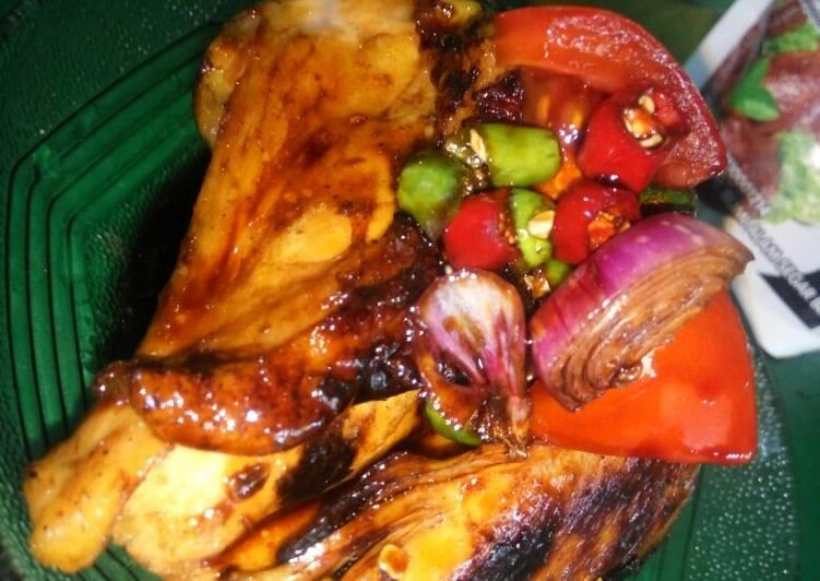Resep Ayam Bakar Sambal Kecap Oleh Wie Ar Cookpad