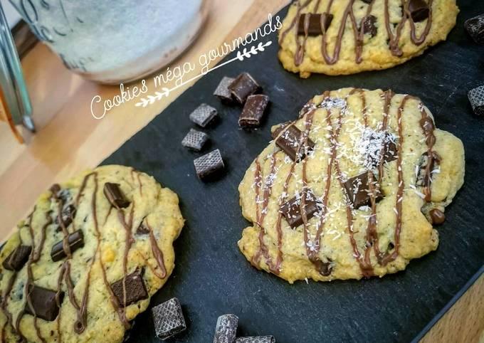 Cookies méga-gourmands
