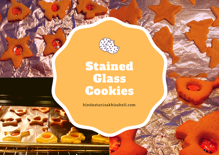Recipe of Favorite Stained Glass Cookies
