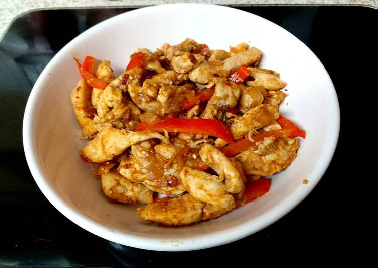 Recipe of Ultimate My Chicken with Salt, Pepper Seasoning with Chilli 🥰