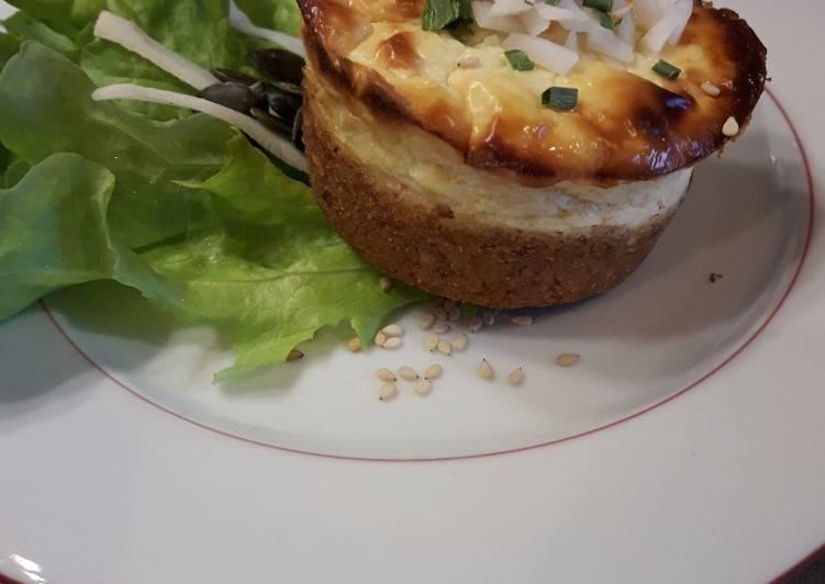 Recette De Cheesecake chèvre frais et radis noir