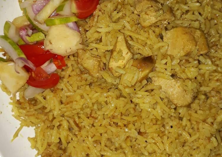 Nasi Biryani dada ayam