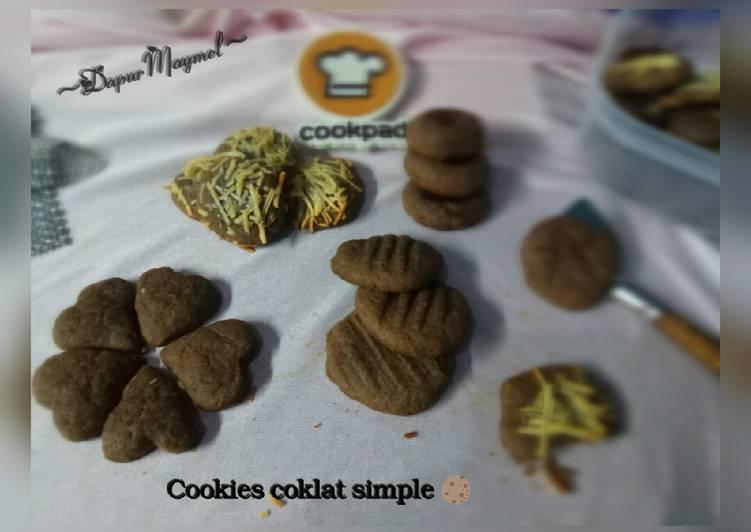 Cookies coklat simple 🍪 (Teflon)